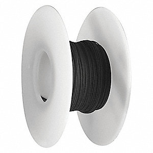 Wire Wrapping Wire, Black, 26 AWG Wire Size, 100 ft. Length