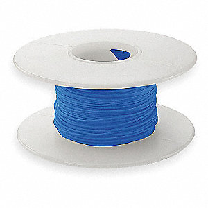 Wire Wrapping Wire, Blue, 28 AWG Wire Size, 100 ft. Length