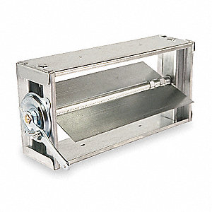 Balancing Damper,Rectangular,10 x 6 In