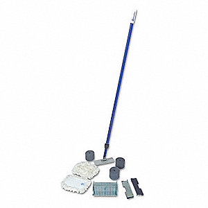 "Wall Washing Kit with Telescoping Handle, Length 7"", Width 3-5/8"", 1 EA"