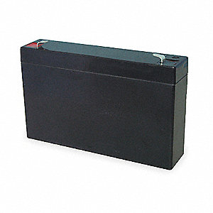 Flame Retardant ABS Battery, Voltage 6, Battery Capacity 12Ah, Faston Terminal Type
