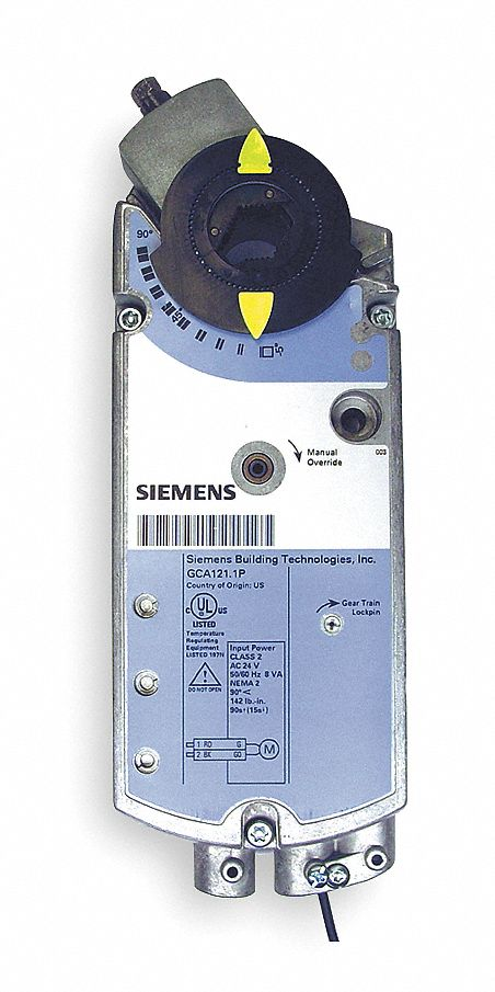 Siemens 24vac Dc On Off Electric Actuator 25 176 To 130 176 F