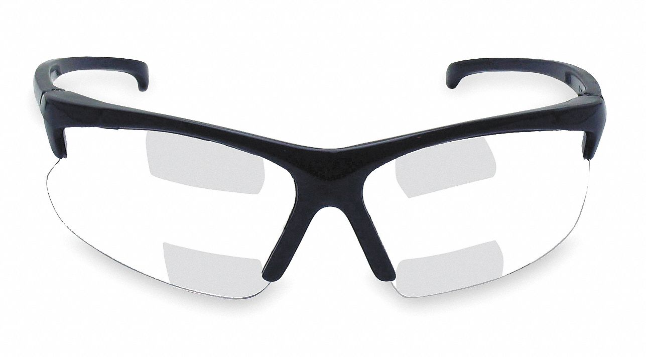 Jackson Safety Clear Scratch Resistant Bifocal Safety