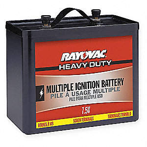 Multiple Ignition Latern Battery, Voltage 7.5