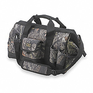 Polyester Tool Bag, General Purpose, Number of Pockets: 31, Mossy Oak