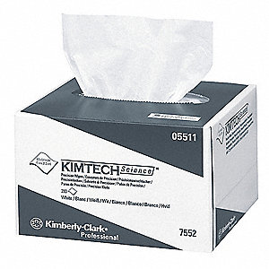 "Disposable Wipes, 4-2/5"" x 8-2/5"", 280 Wipes per Container, 60 PK"