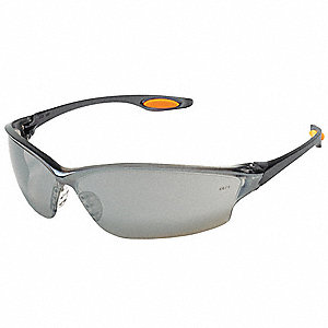 Safety Glasses,Slvr Mirror,Scrtch-Rsstnt