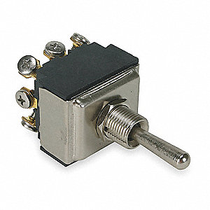 Toggle Switch,3PDT,15A @ 277V,Screw