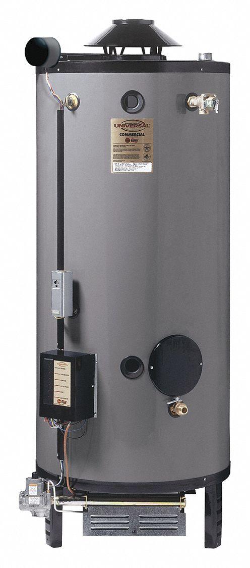 Rheem Ruud Commercial Gas Water Heater 72 0 Gal Tank