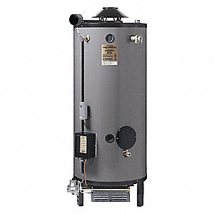 Commercial Gas Water Heater, 72 gal. Tank Capacity, Natural Gas, 250,000 BtuH