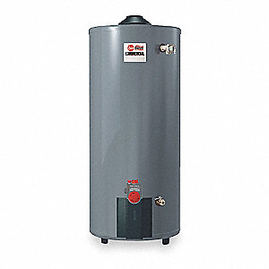 Commercial Gas Water Heater, 75 gal. Tank Capacity, Natural Gas, 75,100 BtuH