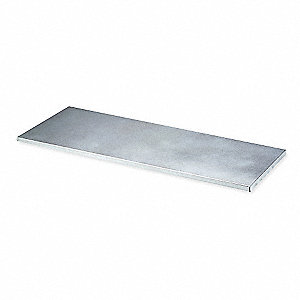 Shelf,1 In. H,40 In. W,14-3/4 In. D