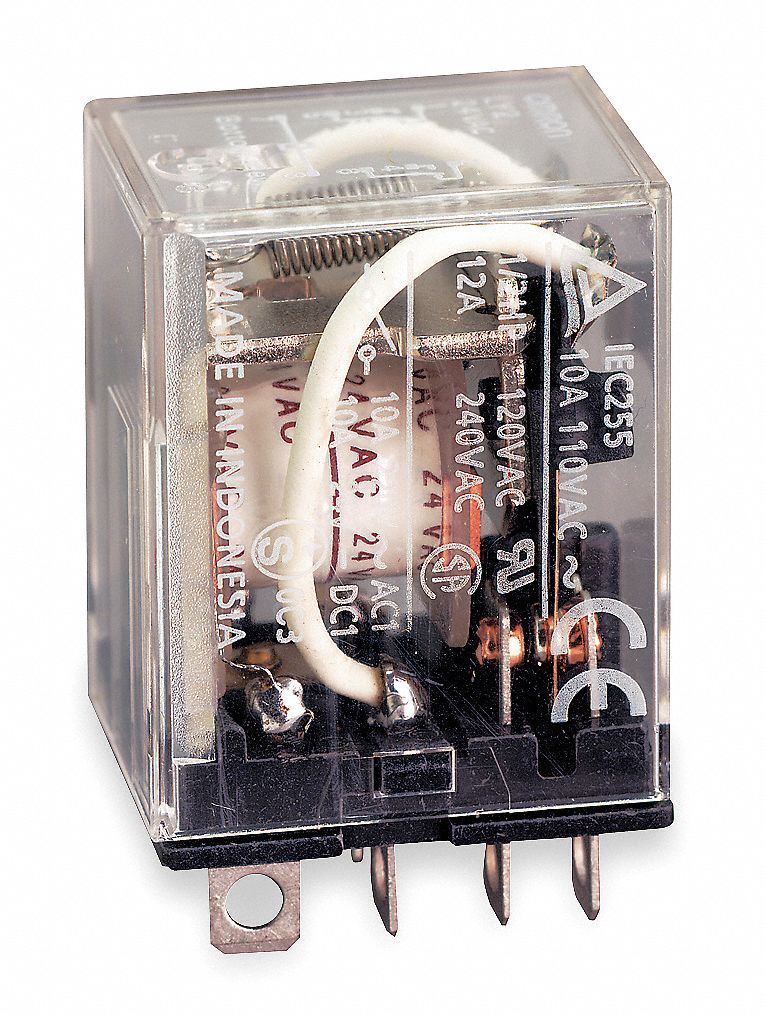 Omron 24vac Coil Volts  General Purpose Relay  10a