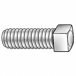 Socket Set Screw,Cup,3/8-16x3/4,PK1500