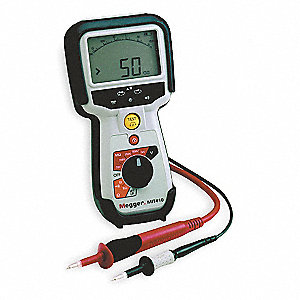 Battery Operated Megohmmeter,1000VDC