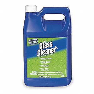 Glass Cleaner,Water Based,1 Gal