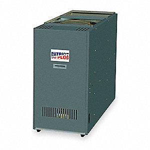 Lowboy Oil Furnace,Rear Flue,119K BthH