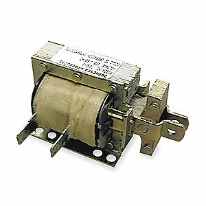 "Solenoid, 120VAC Coil Volts, Stroke Range: 1/4 to 3/4"", Duty Cycle: Intermittent"
