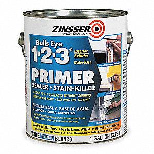 Zinsser Stain Blocking Primer Sealer White 1 Gal Paint