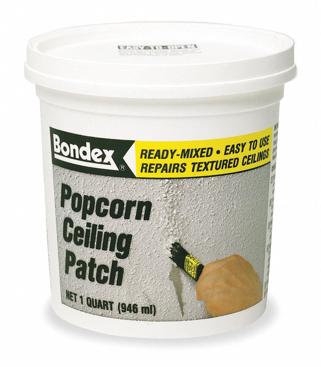 Zinsser Popcorn Ceiling Patch 1 Qt Size White Color