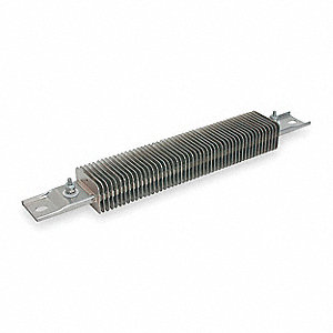 Finned Strip Heater, Each End, 1200°F, 240, Watts 1000, Overall Length 23-3/4""