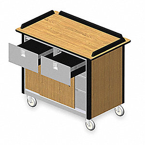 Hydration Cart,Mobil,Stainless,45x26x38