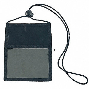 Badge Holder Pouch and Cord,PK5