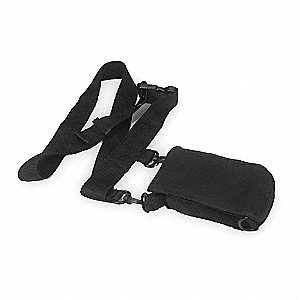 Belt Pouch,1-1/2 In. D,5-3/4 In. H,Black