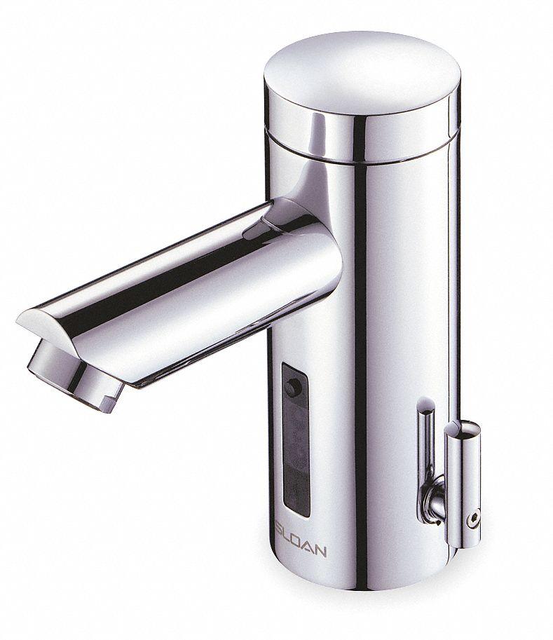 Sloan Brass Bathroom Faucet Sensor Handle Type No Of Handles 0 5yjp3 Eaf250 Ism Grainger