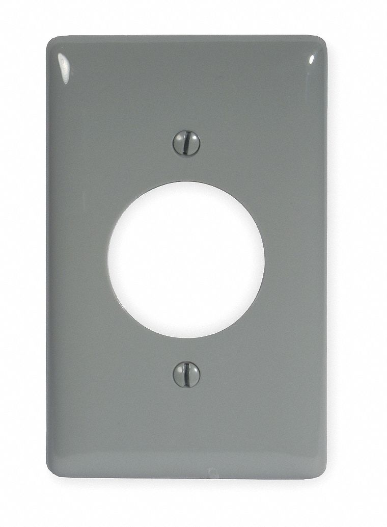 hubbell wiring device kellems single receptacle wall plate welding receptacle mounting