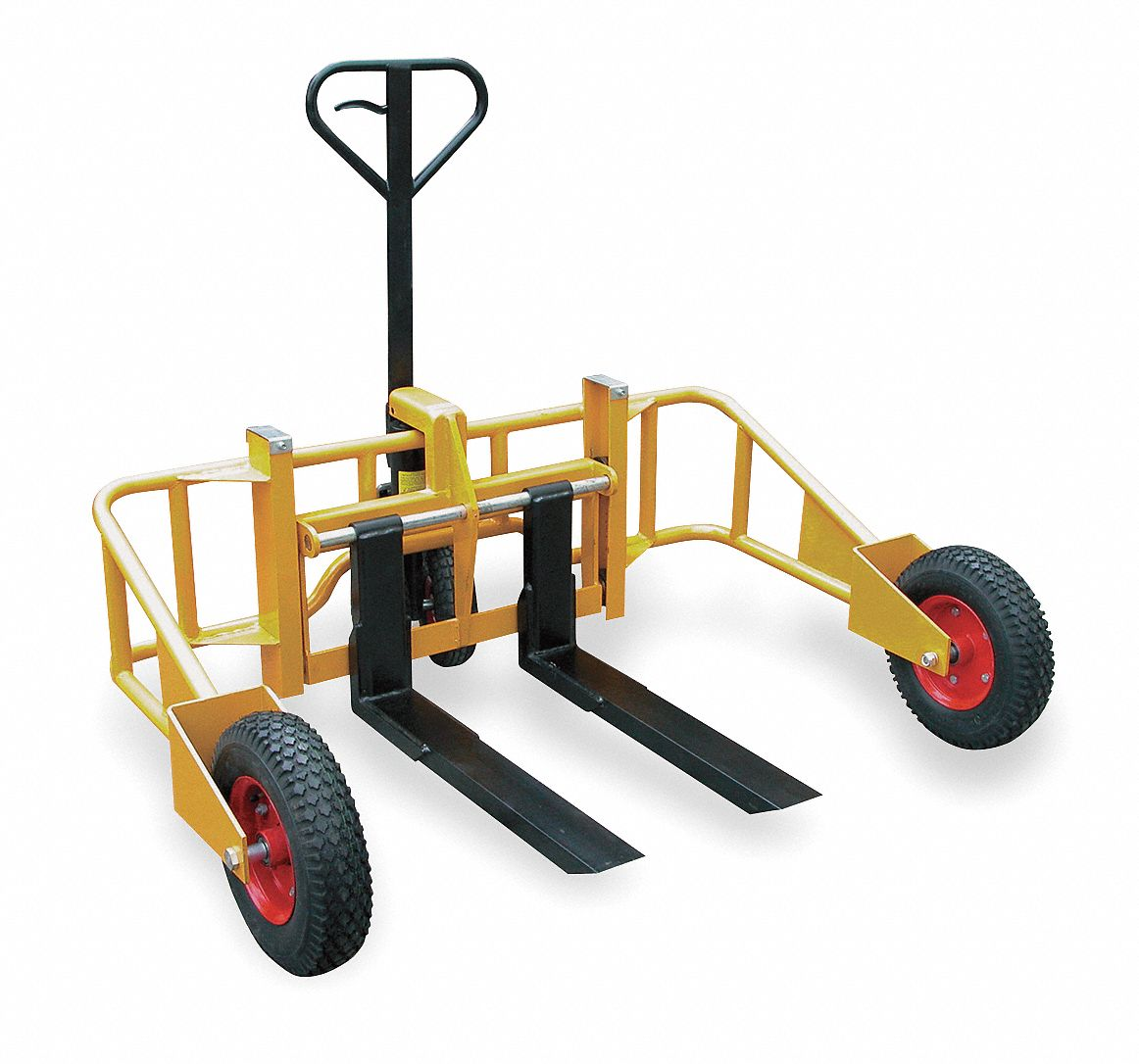 Grainger Approved Specialty All Terrain Manual Pallet Jack Manual Guide