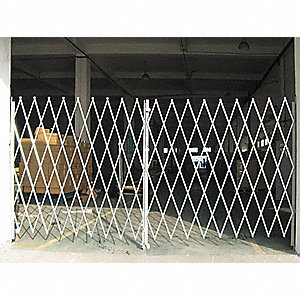 Dble Folding Gate,10 to 12 ft.Opening