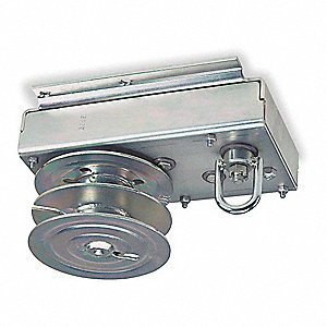 Hand Winch,Worm Gear,No Brake,4000 lb.