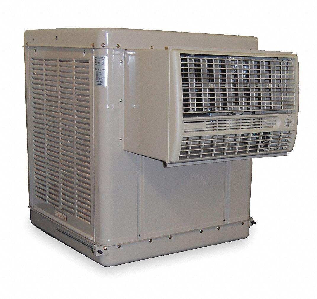Essick air 4000 cfm belt drive window evaporative cooler - Mastercool exterior cooler cover ...