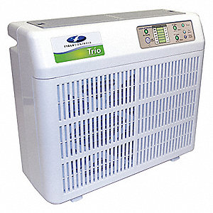 Portable Air Cleaner,5 Stage Media/UV