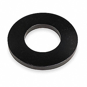 Flat Washer,Bolt 1/4,Stl,5/8 OD