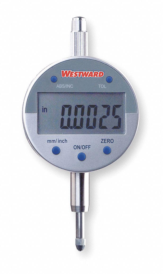 Electronic Digital Indicator : Westward electronic digital indicator quot mm range