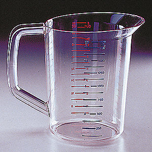 Polycarbonate Measuring Cup,2 Quarts