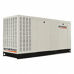 Liquid Engine Cooling, 120/240VAC Voltage, Engine Size: 6.8L, 100 kVA Rating, 1 Phase
