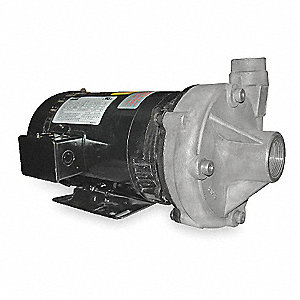 Stainless Steel 2 HP Centrifugal Pump, 208-230/460VAC Voltage, 6.0-5.8/2.9 Amps