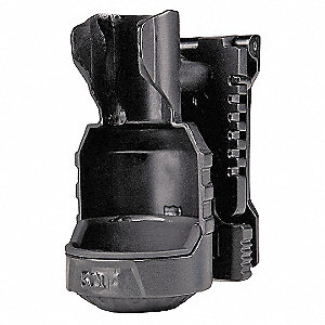 Black Polymer Flashlight Holster, For Use With Mfr. No. TPT R5