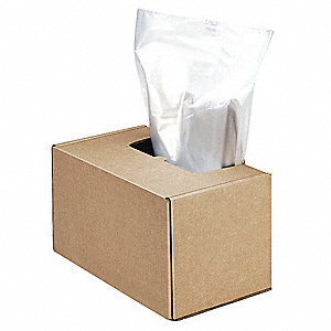"50 x 42-1/2 x 22"" Paper Shredder Bag"