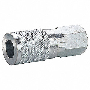 Coupler Body,(F)NPT,1/4,Steel