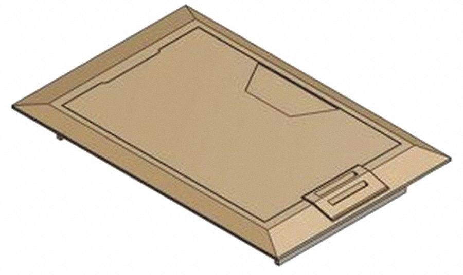 Steel city floor box cover8 3 8 inbrass 30ec73 664 for Steel city floor boxes