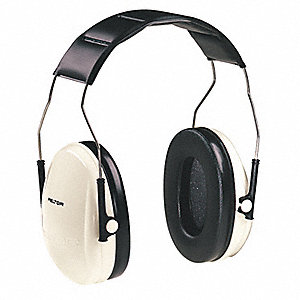 Ear Muffs,Over-the-Head,Beige/Black,21dB