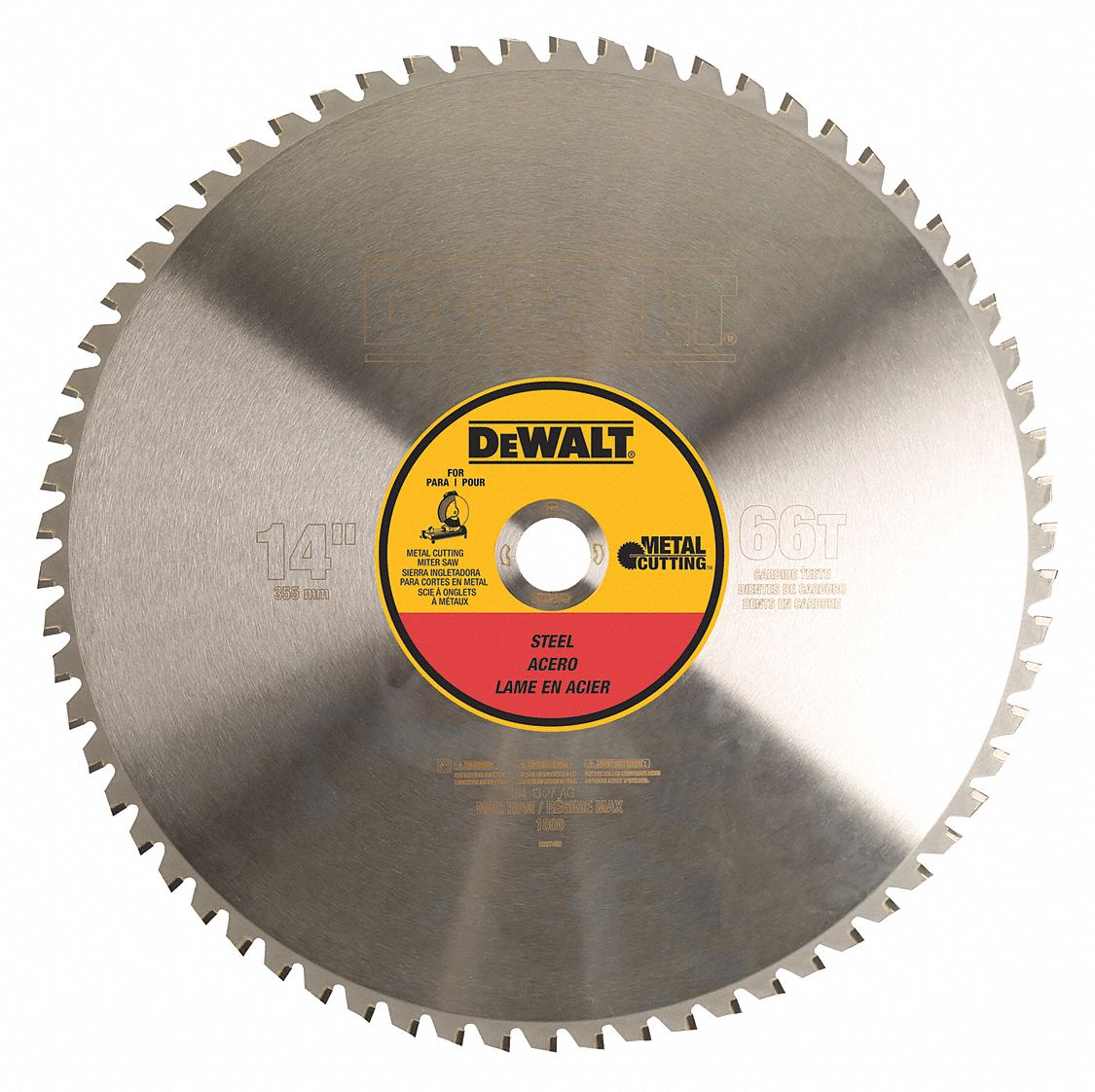 Dewalt 14 Quot Carbide Metal Cutting Circular Saw Blade
