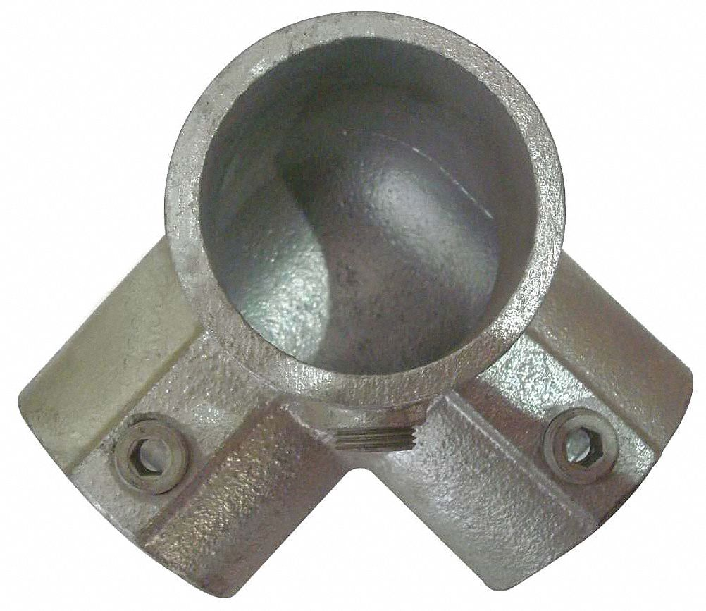 Grainger approved side outlet elbow cast iron structural