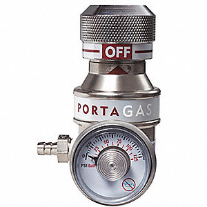Gas Regulator, Flow Rate 1.0Lpm