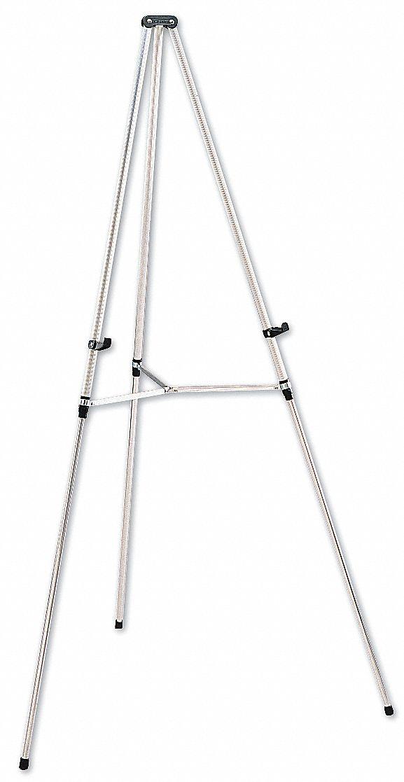 quartet easel  aluminum frame material  66 u0026quot  overall height