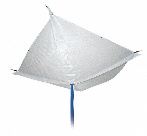 Leakage Of Roof: PIG Roof Diverter, 6 Ft. X 6 Ft., Straps, Translucent